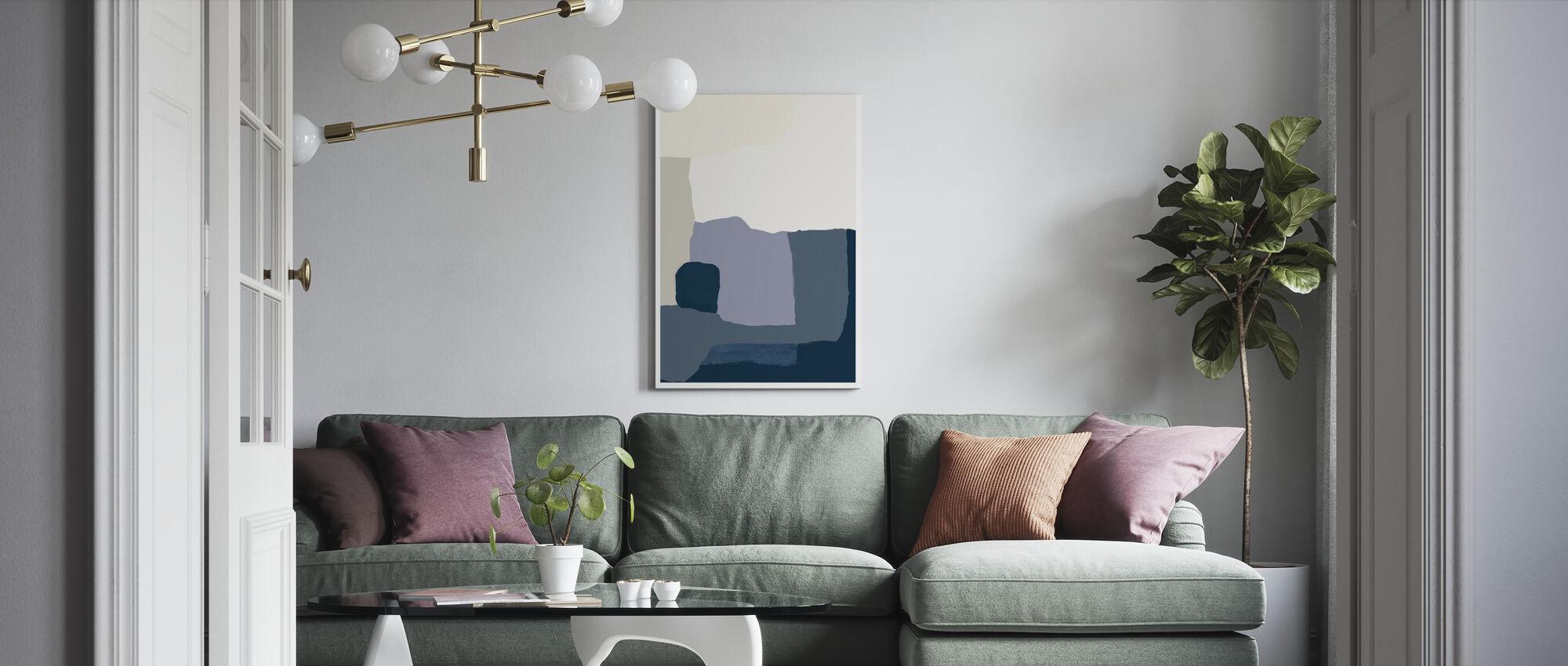 Layers II - Canvas print - Living Room