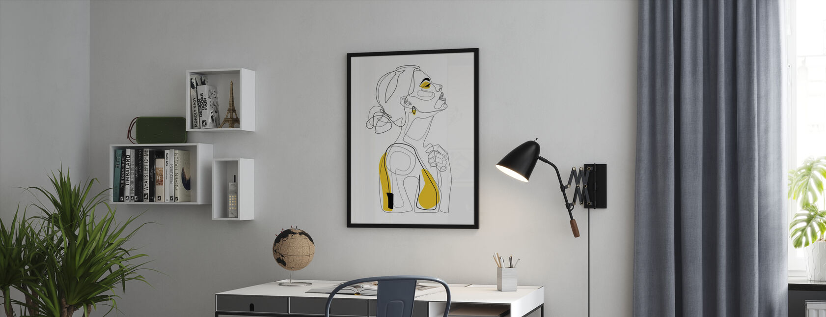 Kleur Schoonheid - Poster - Kantoor