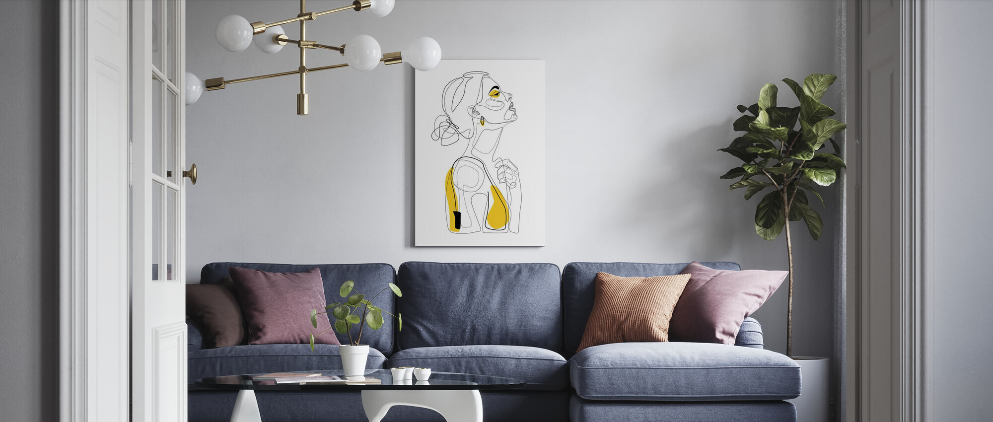 Color Beauty - Canvas print - Living Room