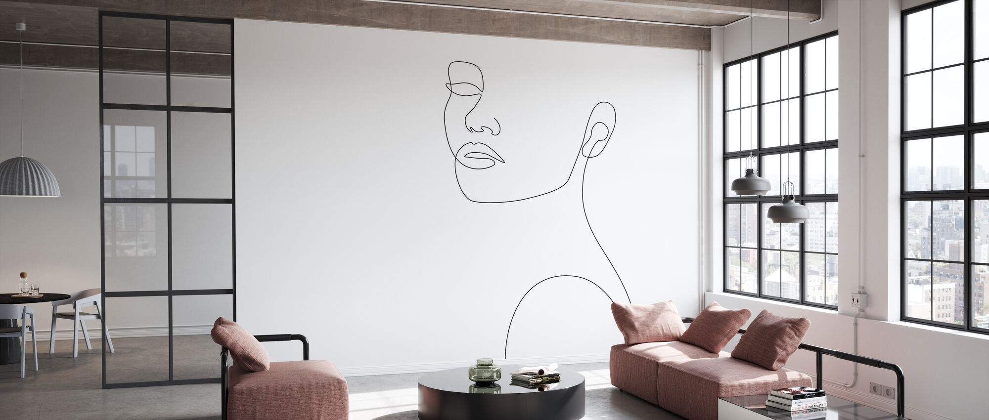 Girly Portrait - Wallpaper - Office