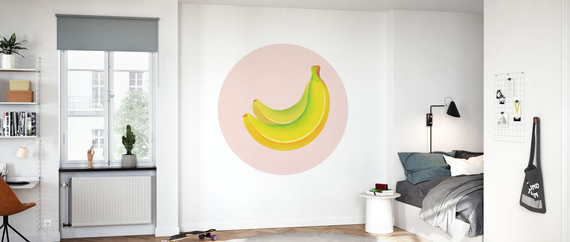 Bananen - Tapete - Kinderzimmer