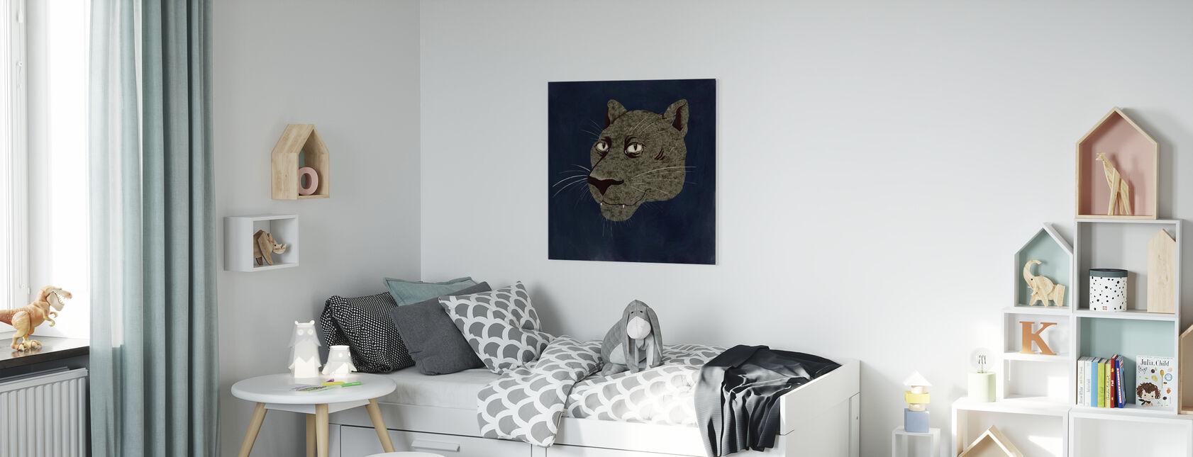 Phanter - Canvas print - Kids Room