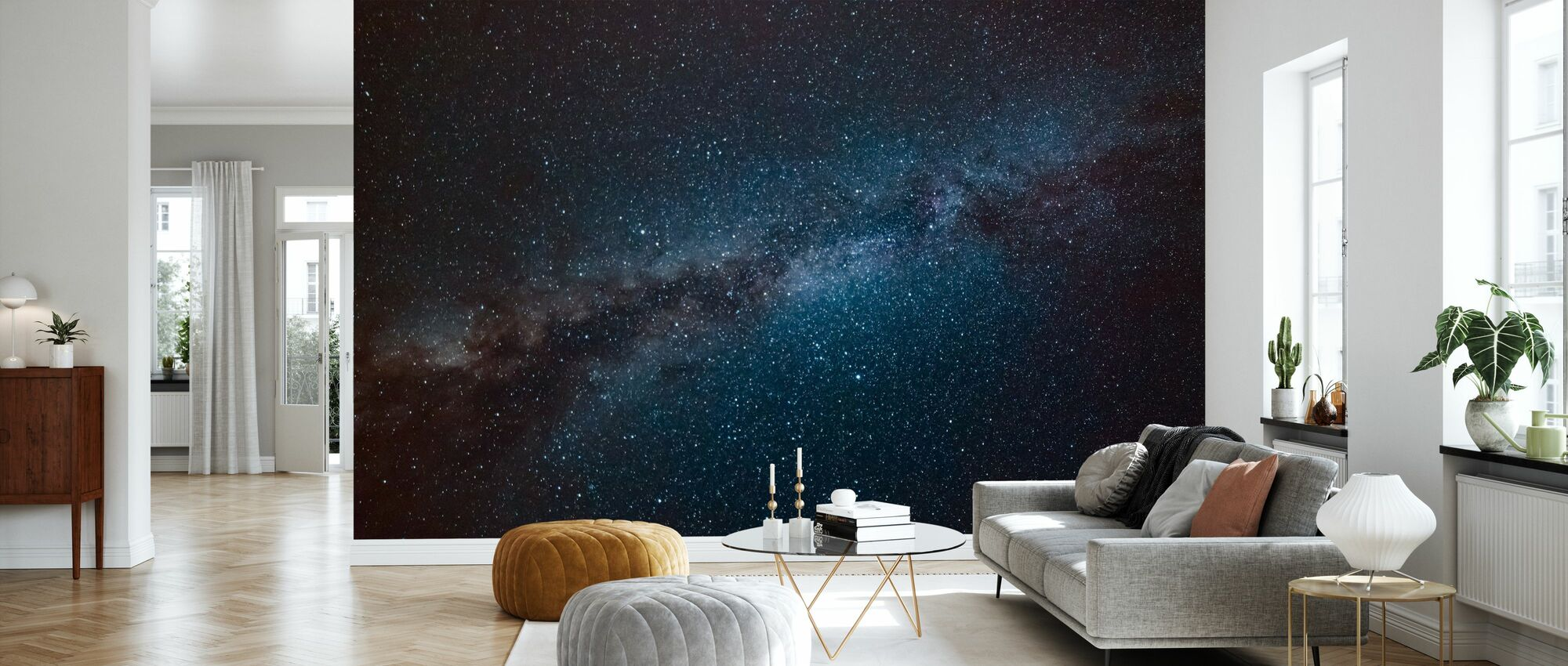 Astronomy Constellation - Wallpaper - Living Room