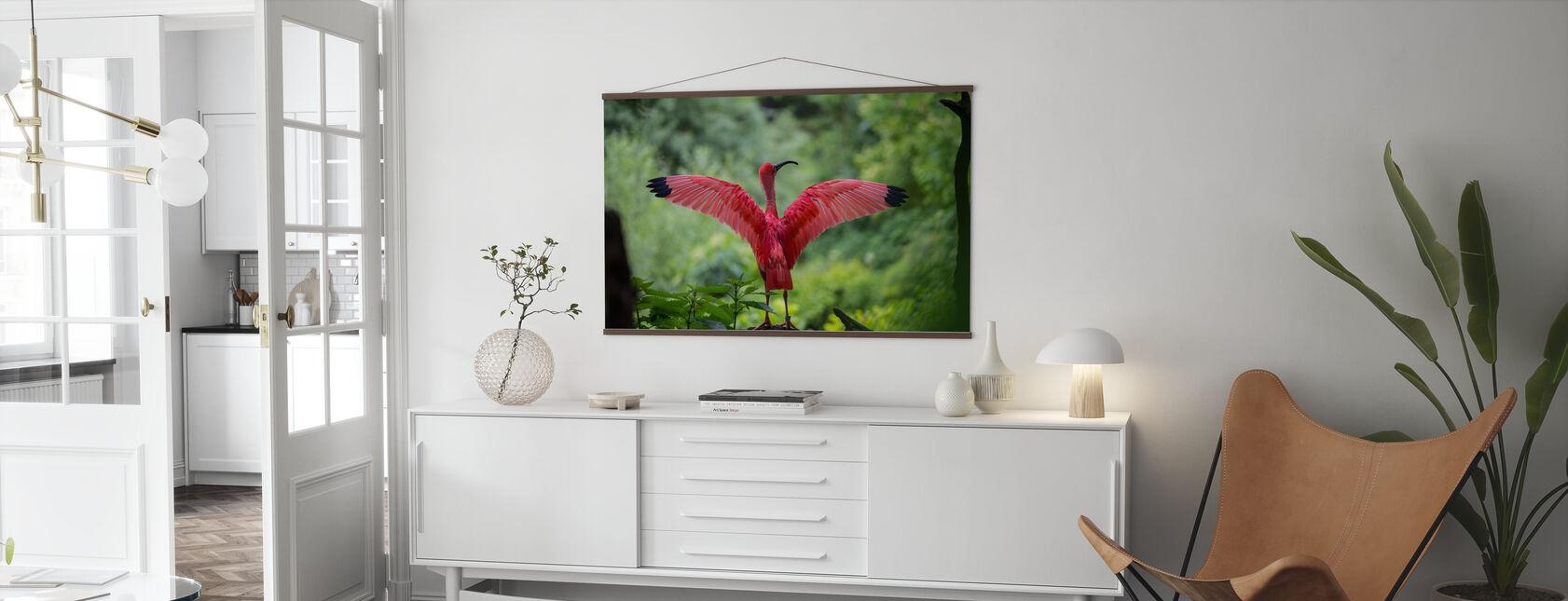 Beautiful Bird - Poster - Living Room