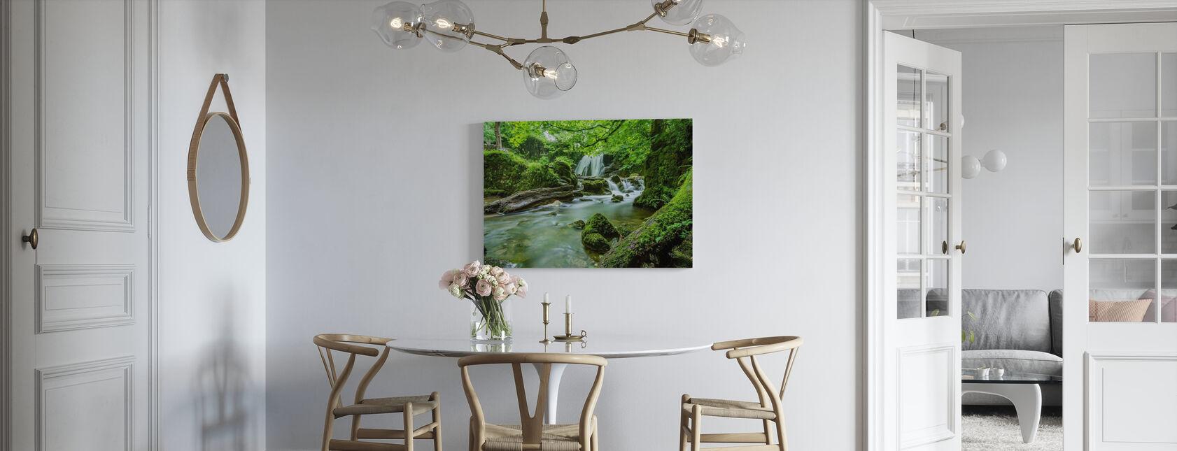 Beautiful Cascade - Canvas print - Kitchen