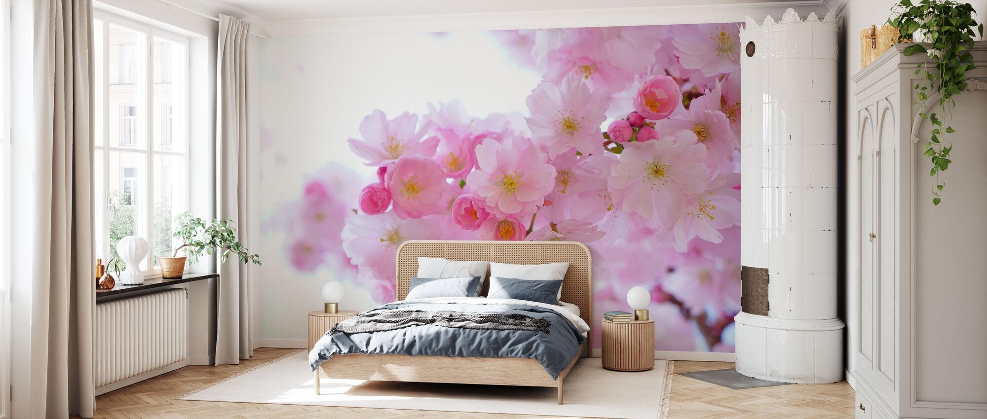 Blossom kirsikankukka - Tapetti - Makuuhuone