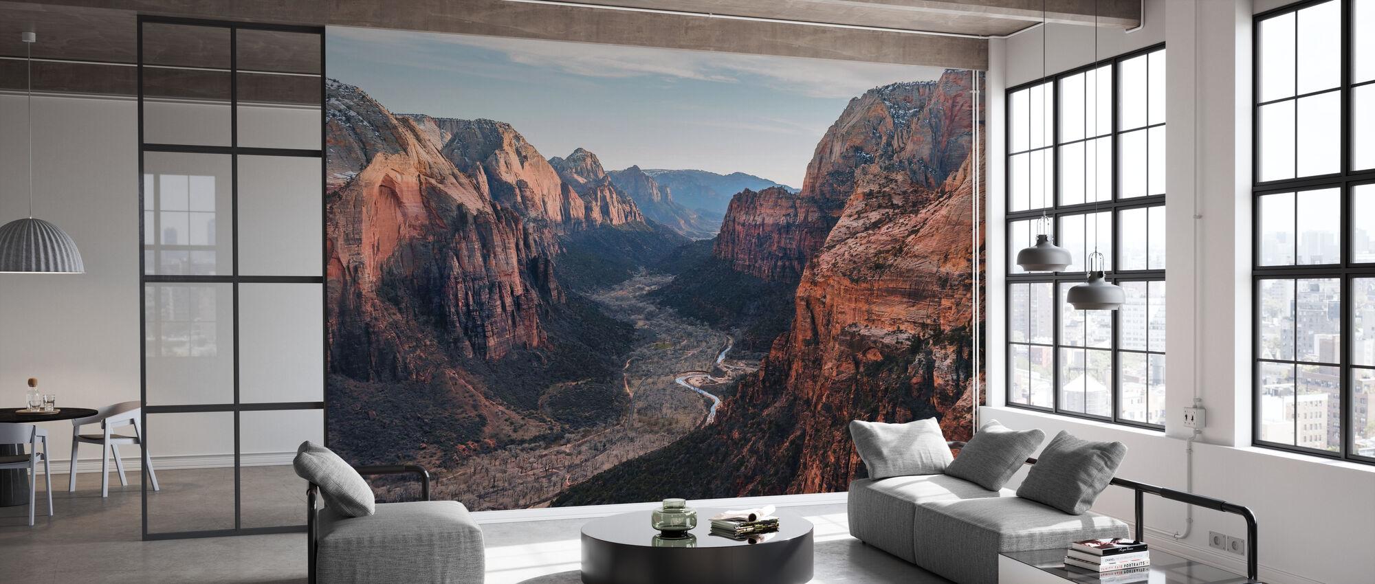 Canyon Desert Geology - Wallpaper - Office