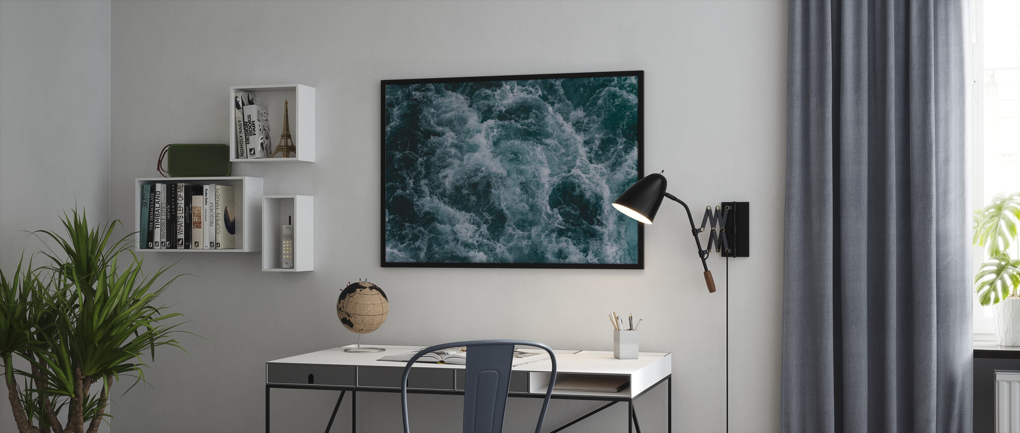 Cold and Stormy - Poster - Office