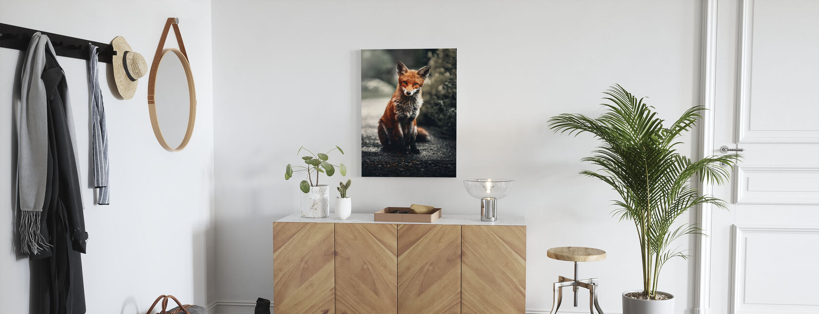 Fox Study - Lerretsbilde - Gang