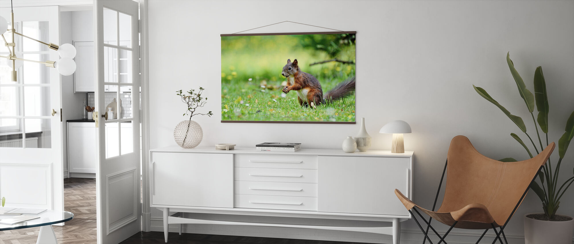 Oravien väestönlaskenta - Juliste - Olohuone