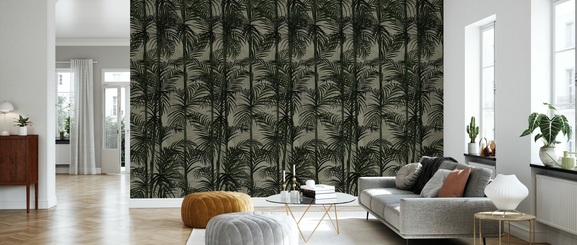 Botany Bamboo - Safari - Wallpaper - Living Room