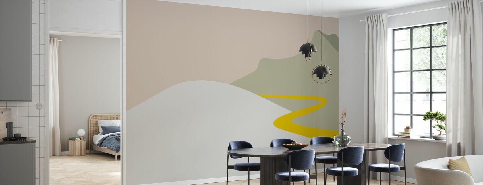 I travel - Wallpaper - Kitchen
