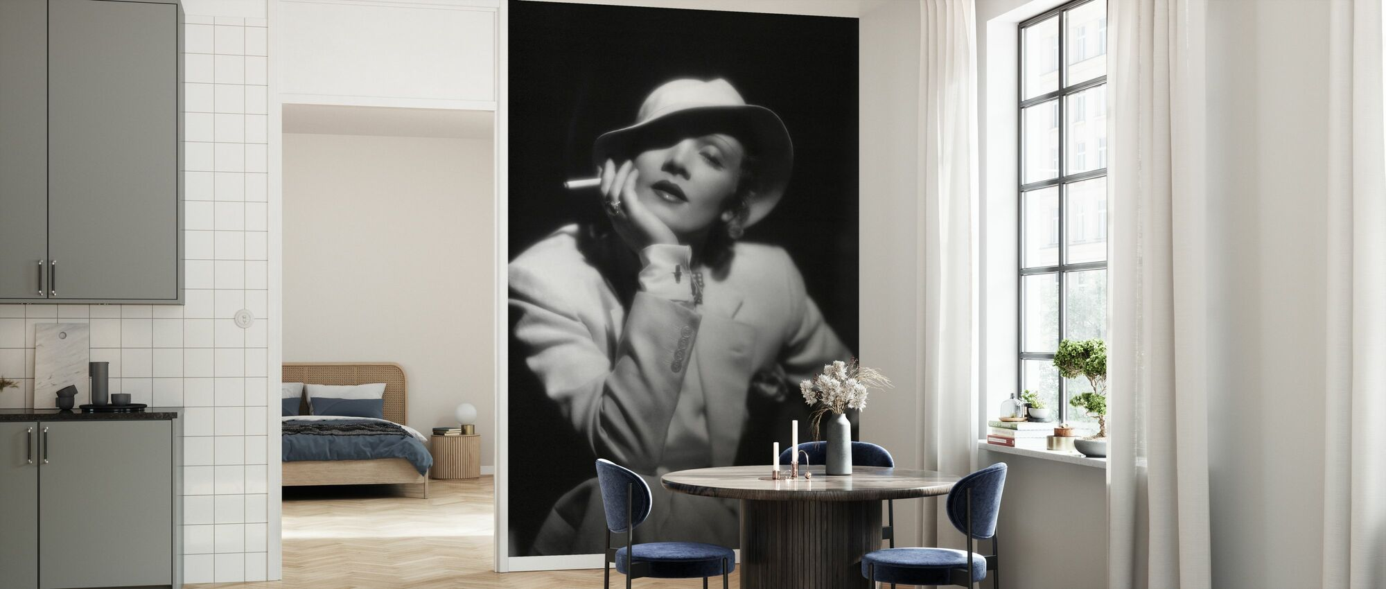 Devils är en kvinna - Marlene Dietrich - Tapet - Kök