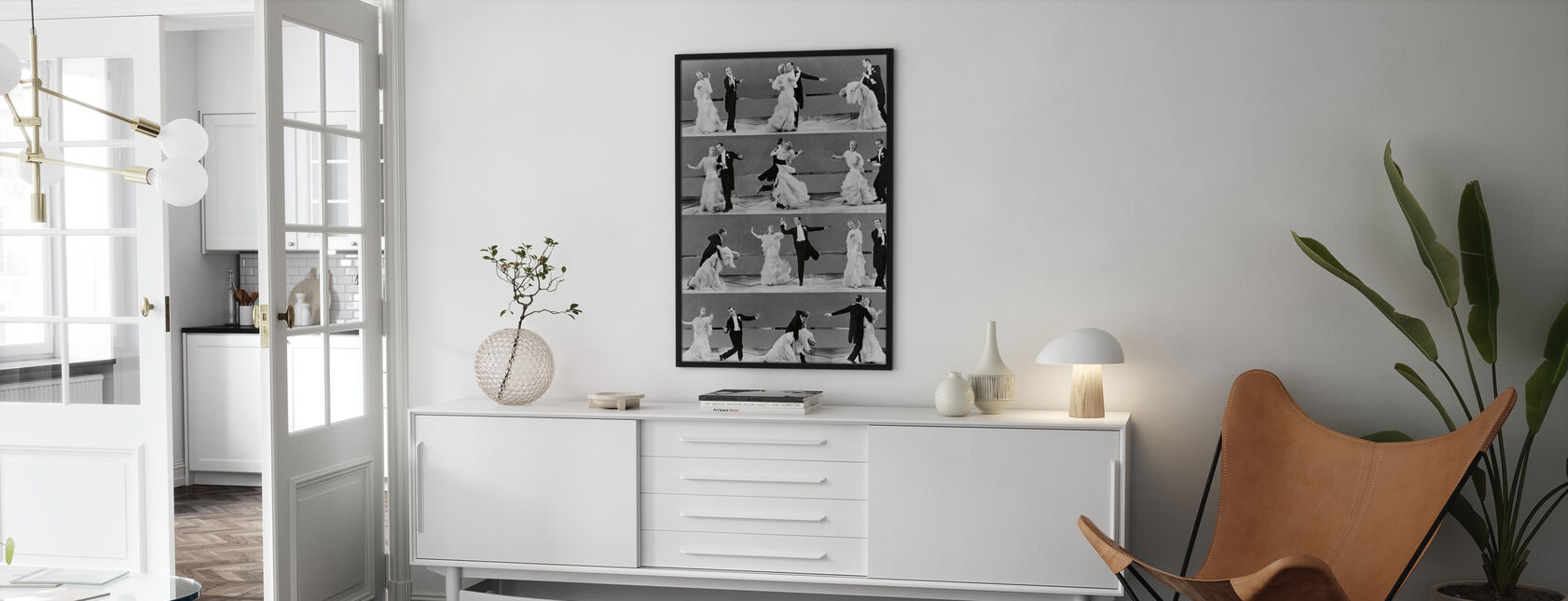 Top Hat - Ginger Rogers and Fred Astaire - Framed print - Living Room