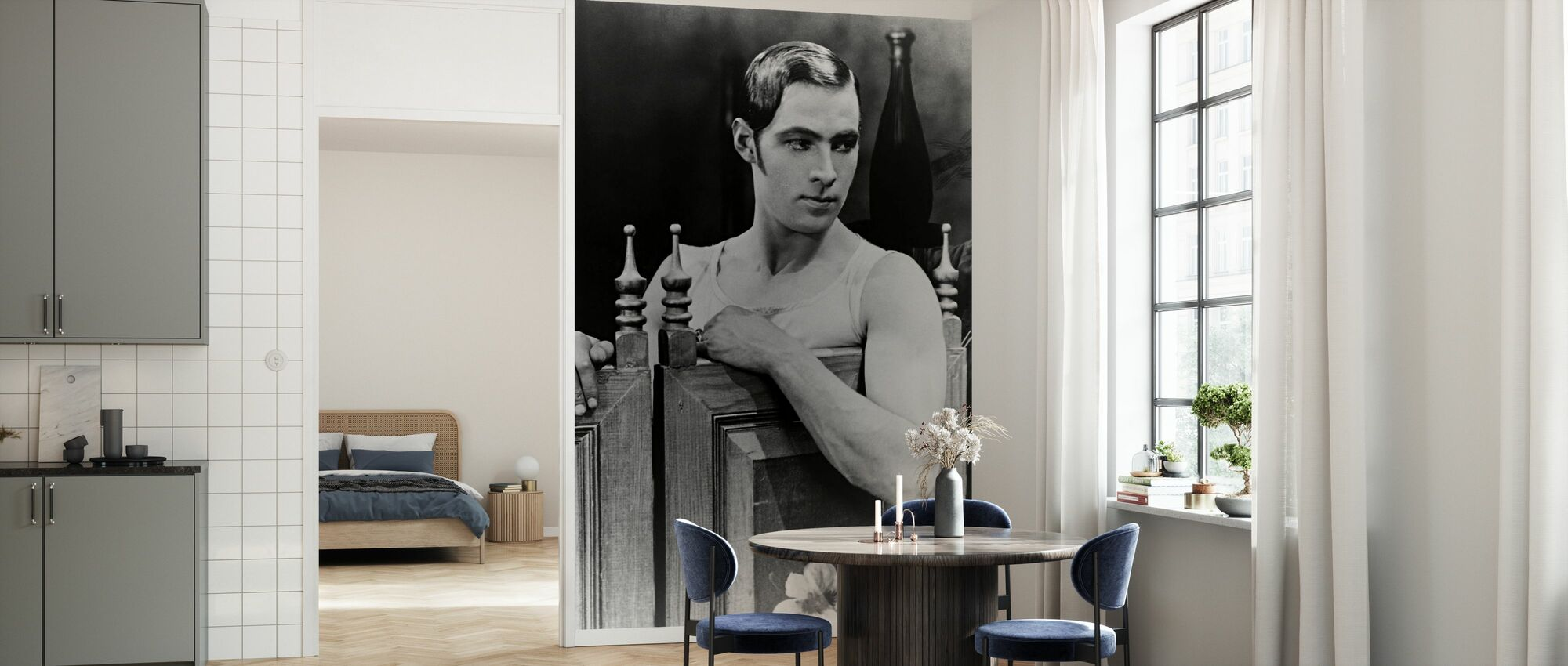 Blood and Sand - Rudolph Valentino - Wallpaper - Kitchen