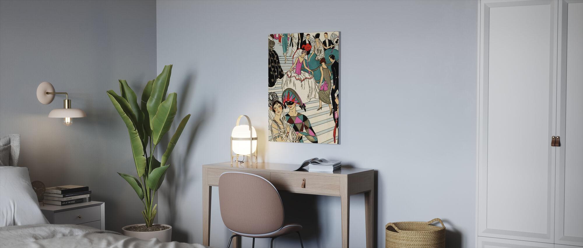 Masquerade Ball - Canvas print - Office