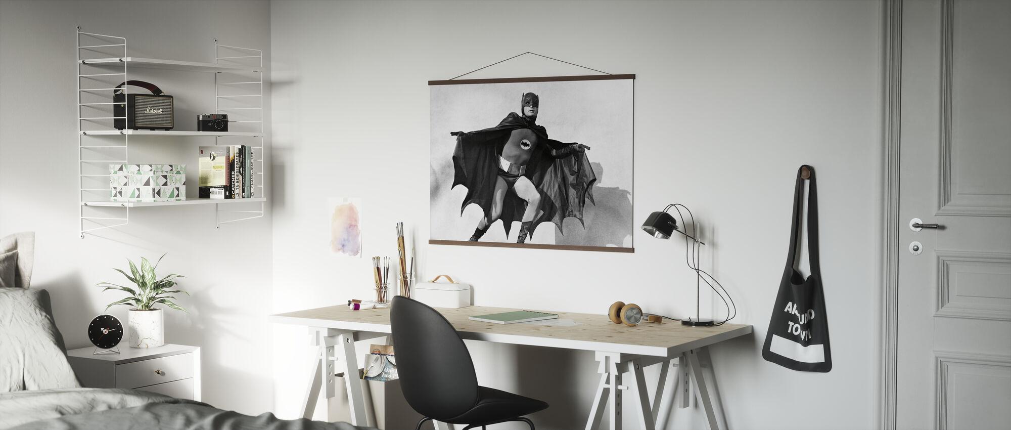 Batman - Adam West - Poster - Office