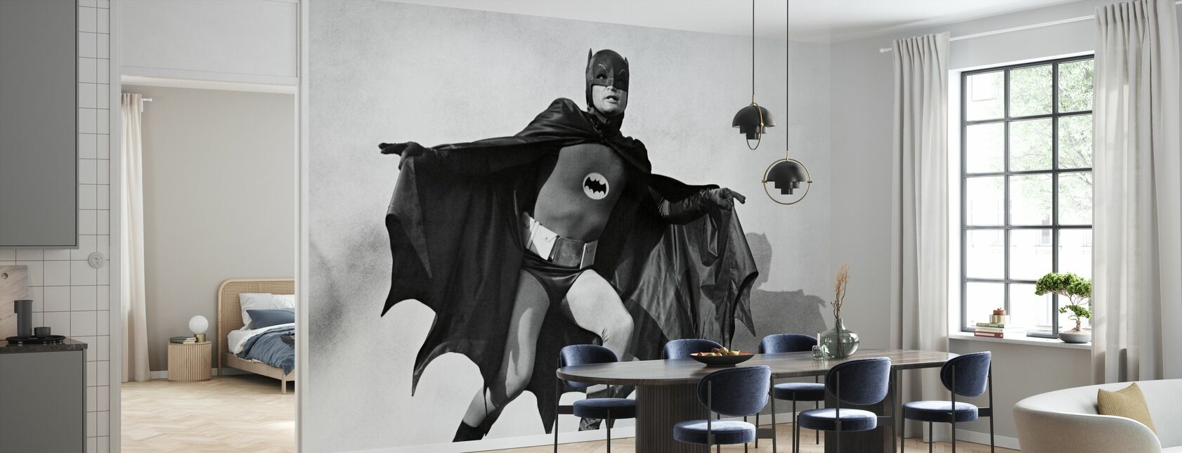 Batman - Adam West - Tapeta - Kuchnia