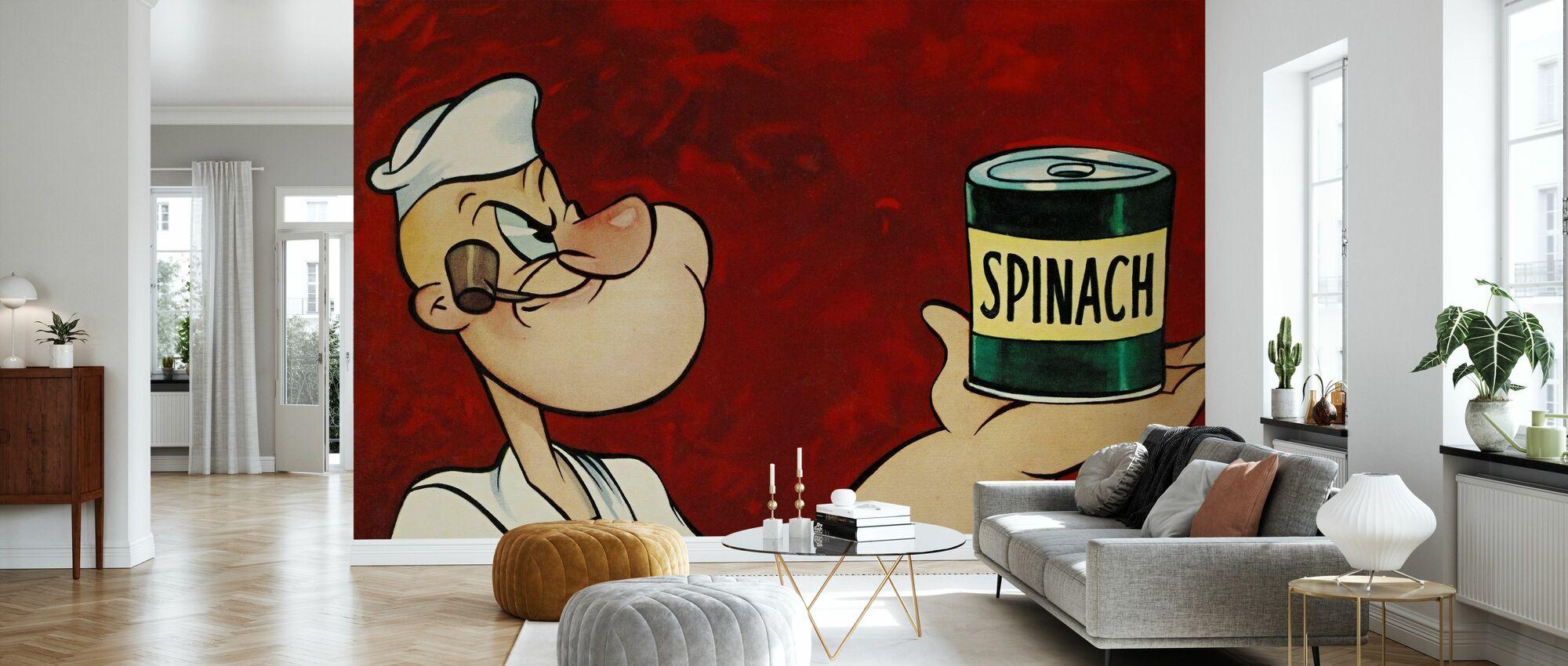 Popeye the Sailor - Wallpaper - Living Room
