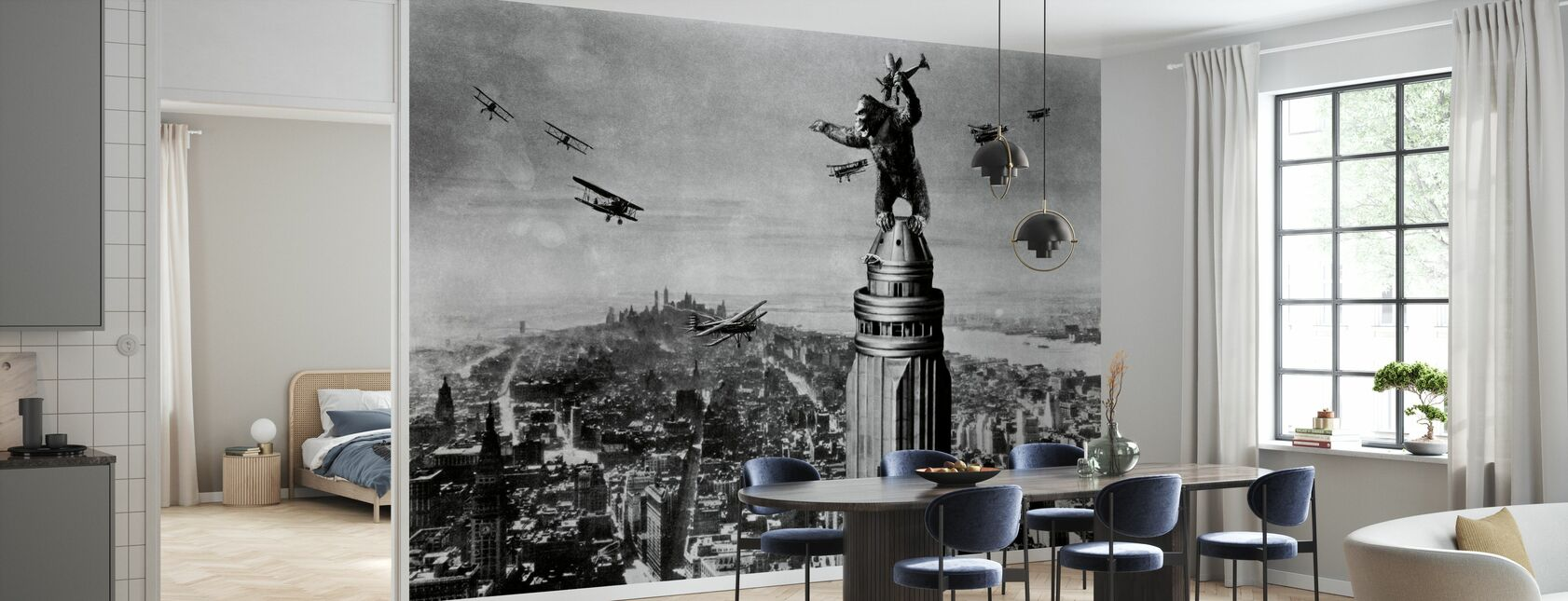 King Kong - Wallpaper - Kitchen