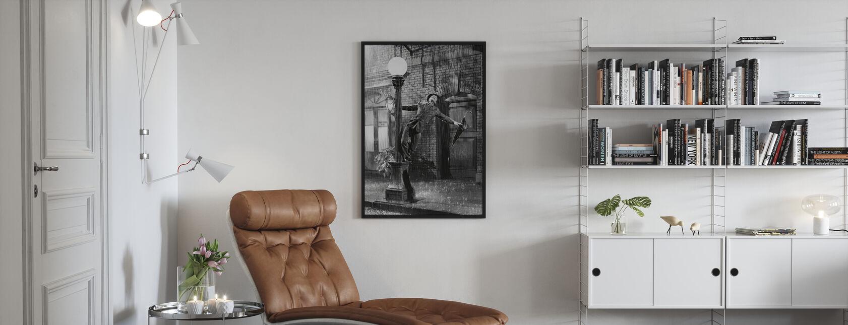 Gesang - Gene Kelly - Poster - Wohnzimmer