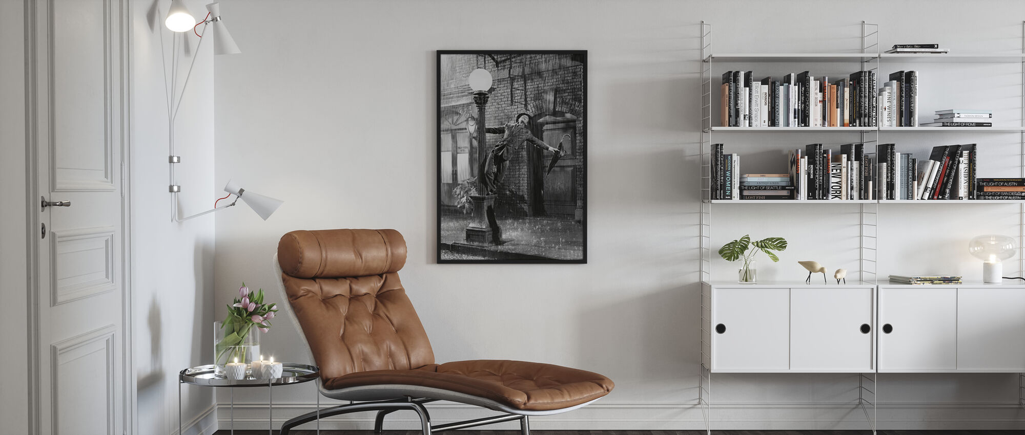 Singing - Gene Kelly - Poster - Living Room