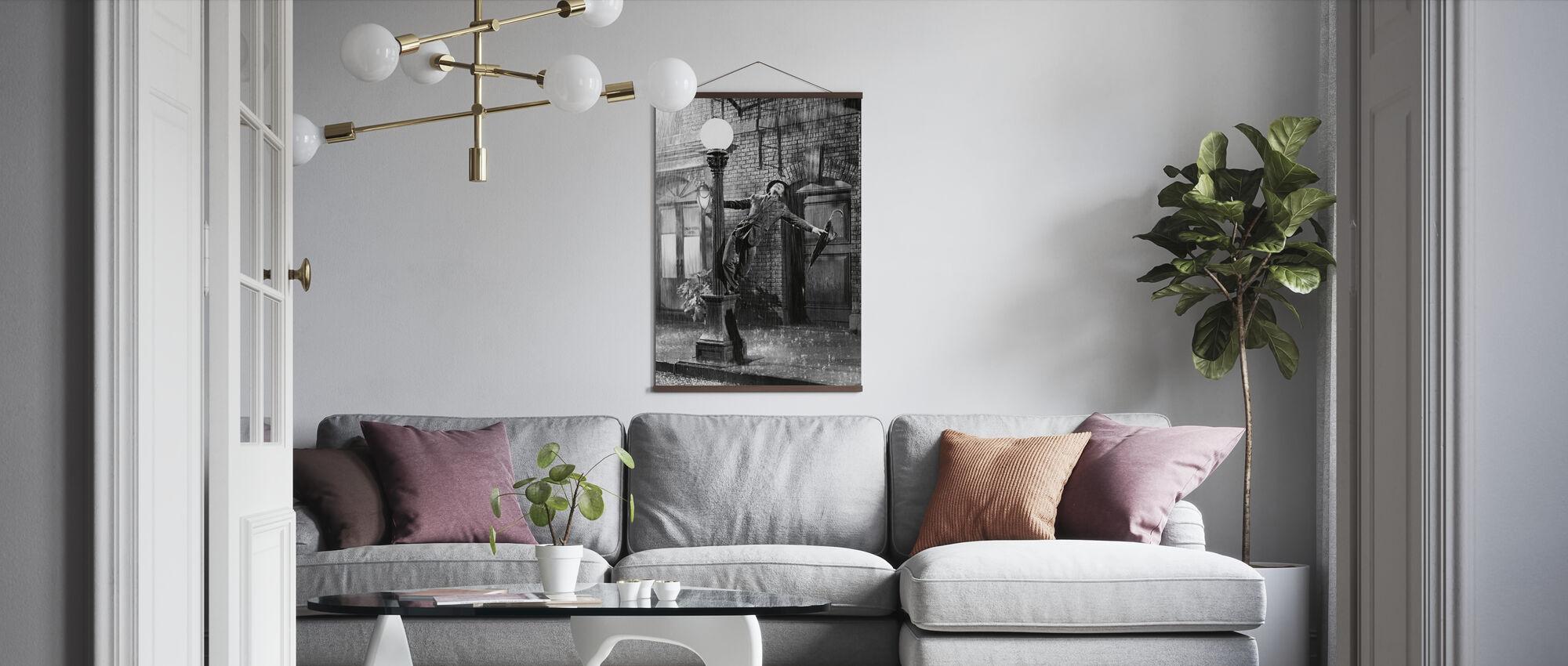 Singing - Gene Kelly - Poster - Living Room