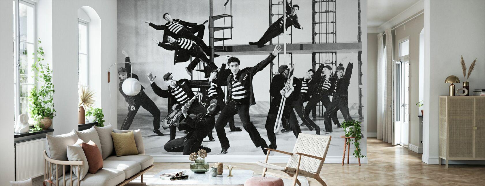 Fågelhus Rock - Elvis Presley - Tapet - Vardagsrum