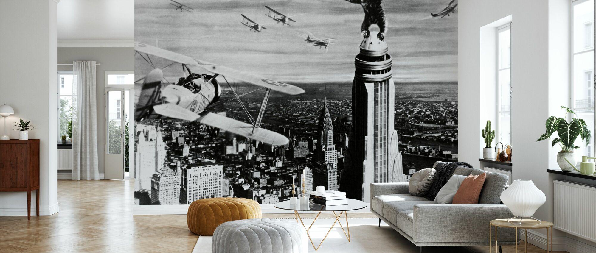 King Kong - Wallpaper - Living Room