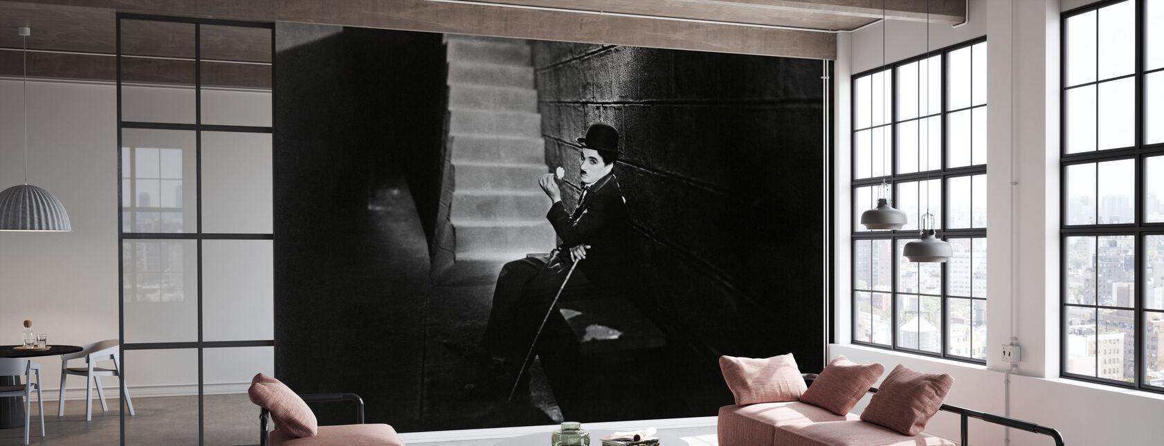 Kaupungin valot - Charlie Chaplin - Tapetti - Toimisto