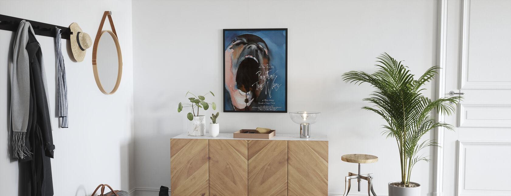 Wand - Pink Floyd - Poster - Flur