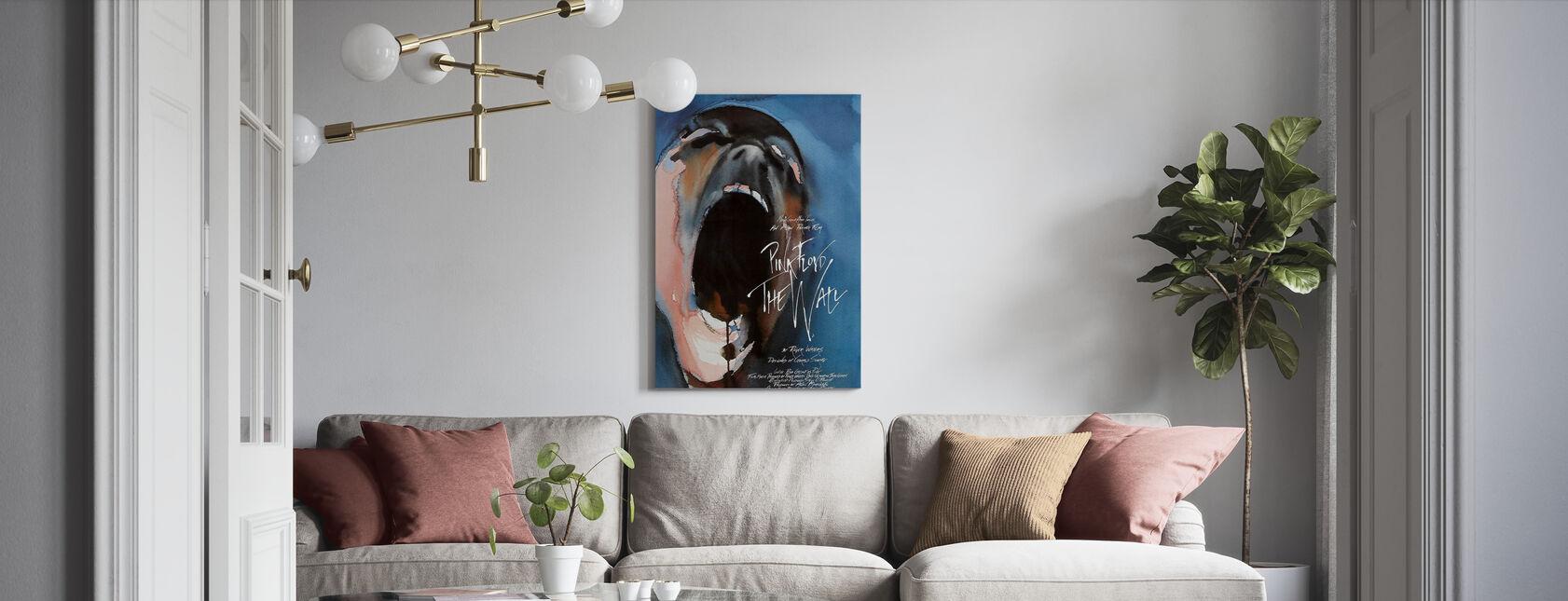 Væg - Pink Floyd - Billede på lærred - Stue