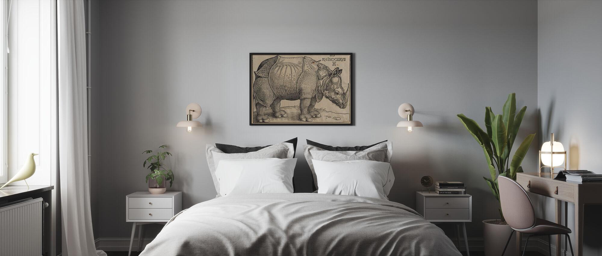 Rhinoceros - Abrecht Durer - Poster - Bedroom