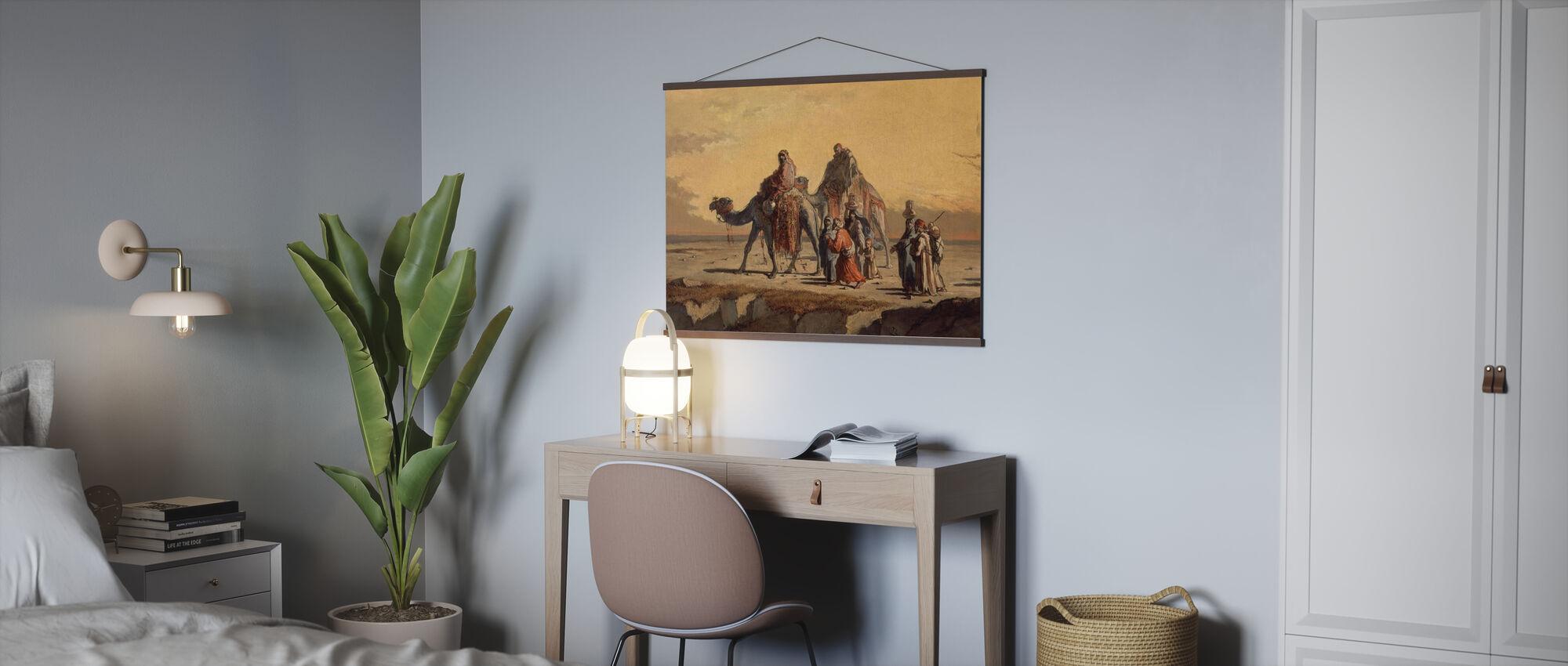 Desert Scene - Francisco Lameyer - Poster - Office