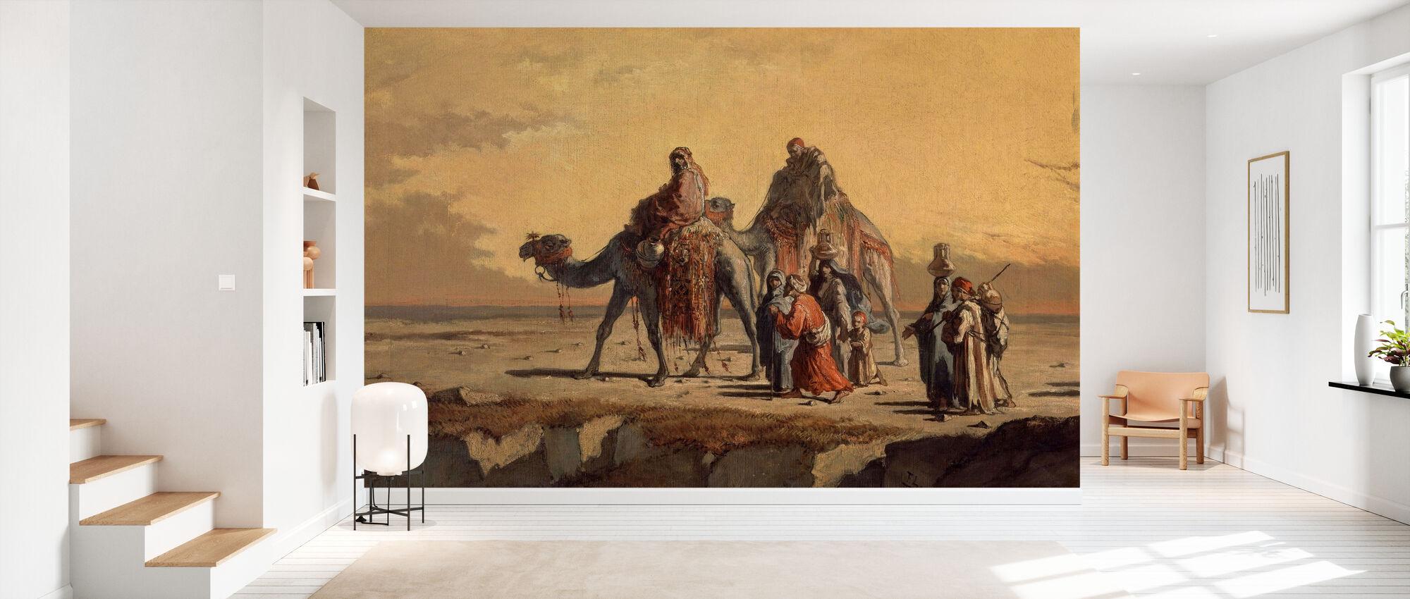 Desert Scene - Francisco Lameyer - Tapet - Gang