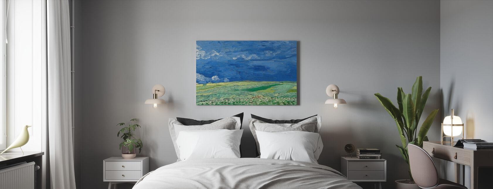 Wheatfield - Vincent Van Gogh - Canvas print - Bedroom