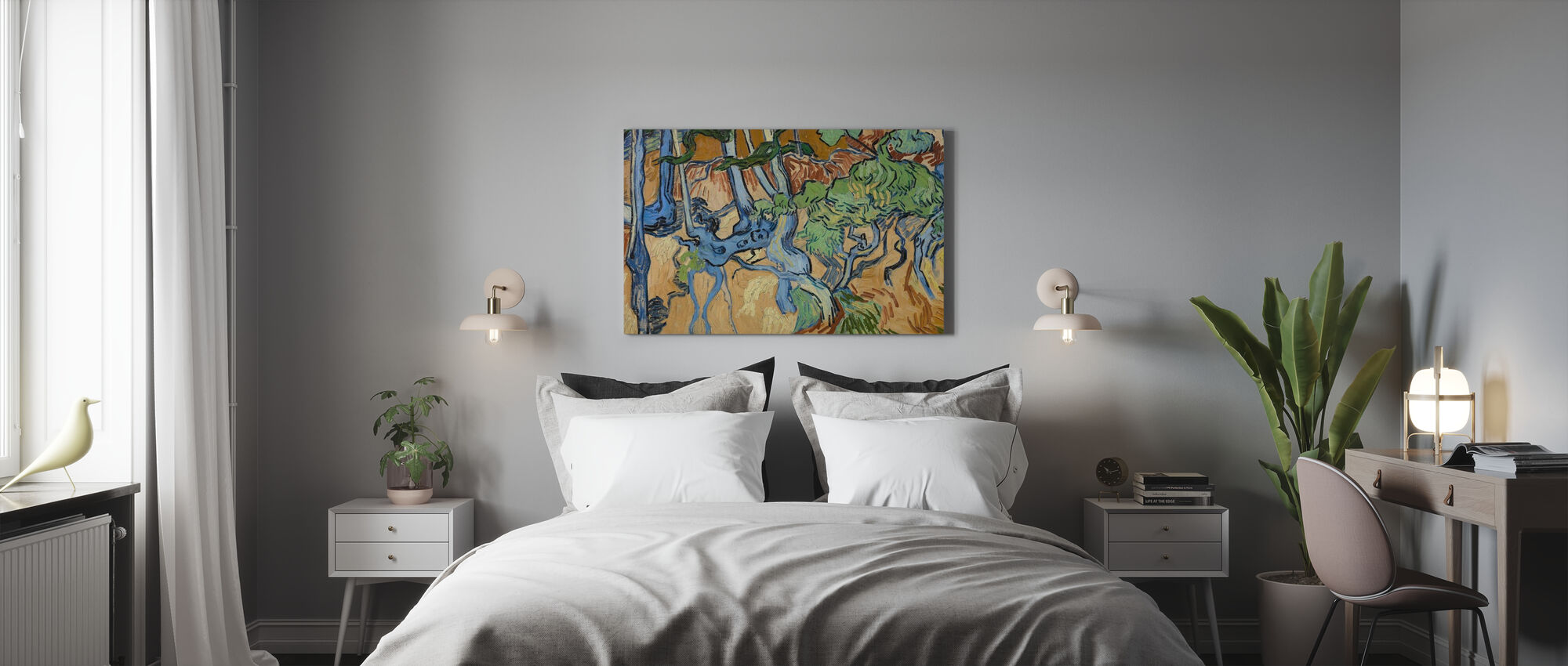 Tree Roots - Vincent Van Gogh - Canvas print - Bedroom