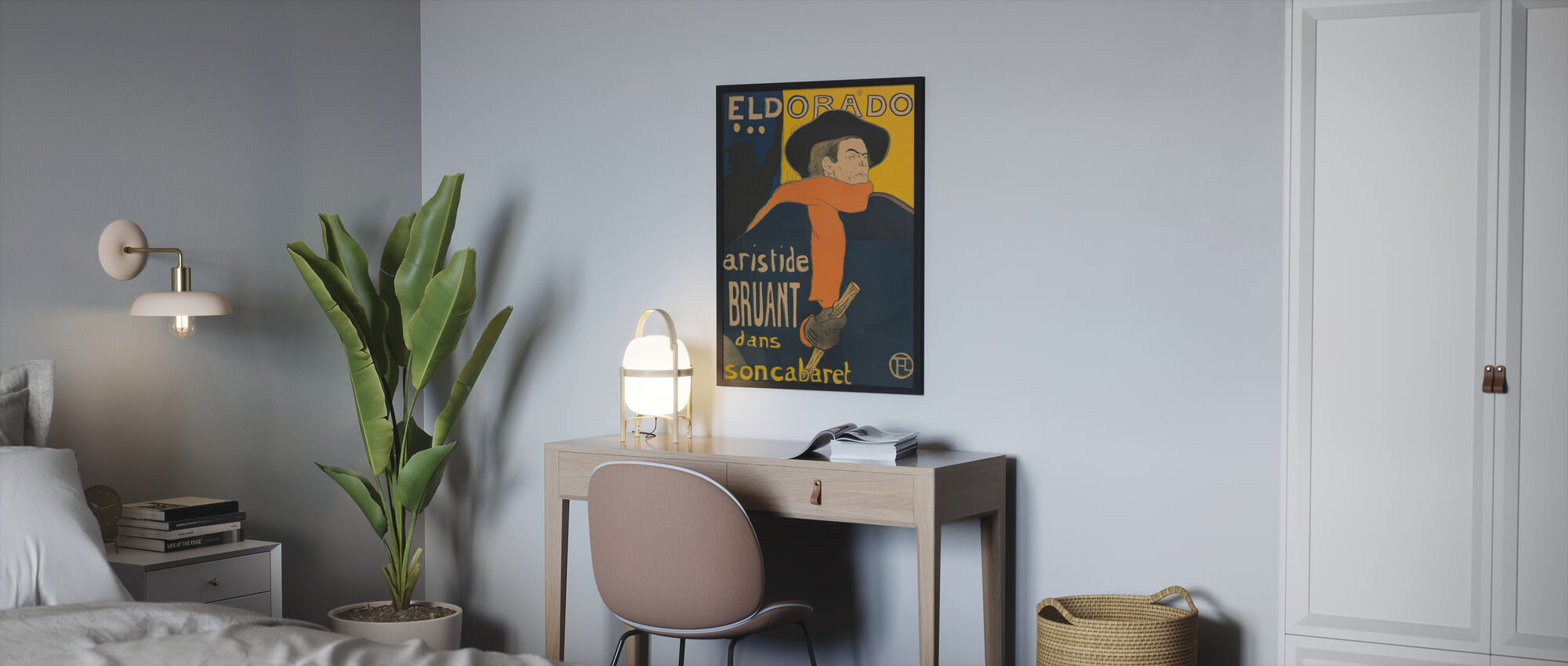 Café konsert Eldorado - Aristide Bruant - Plakat - Soverom