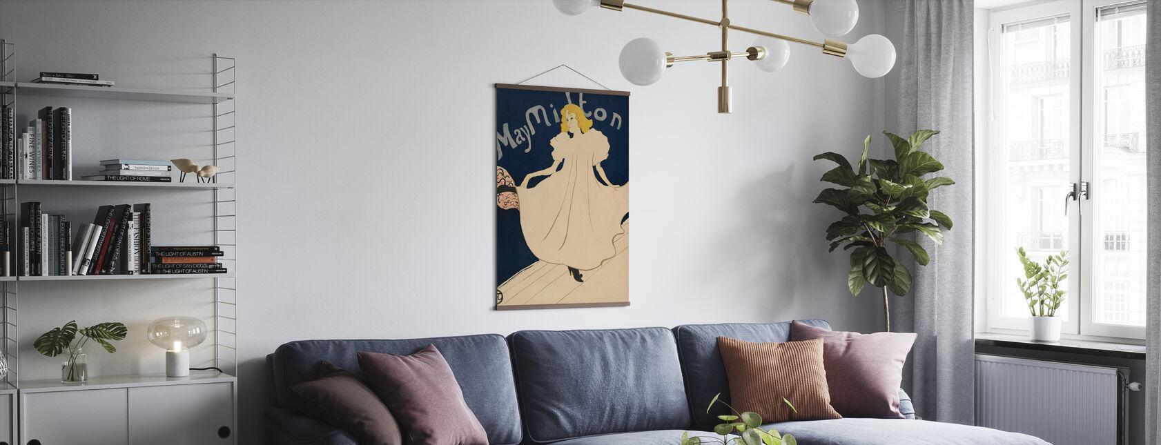 Milton - Henri de Toulouse-Lautrec - Plakat - Stue