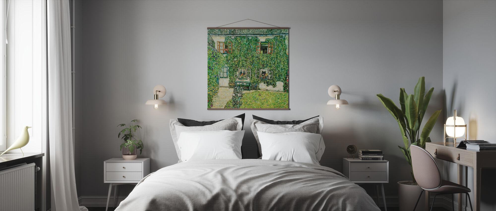 Skogbruk Hus - Gustav Klimt - Plakat - Soverom