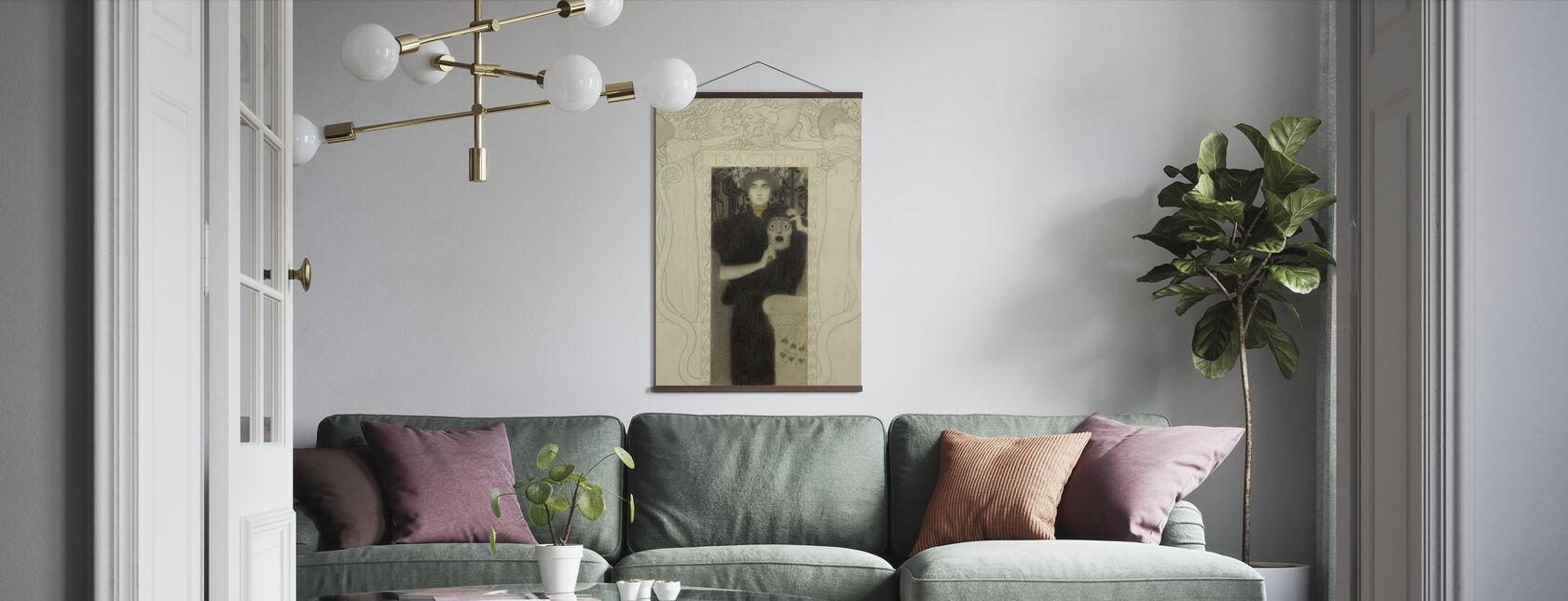 Tragedie - Gustav Klimt - Plakat - Stue