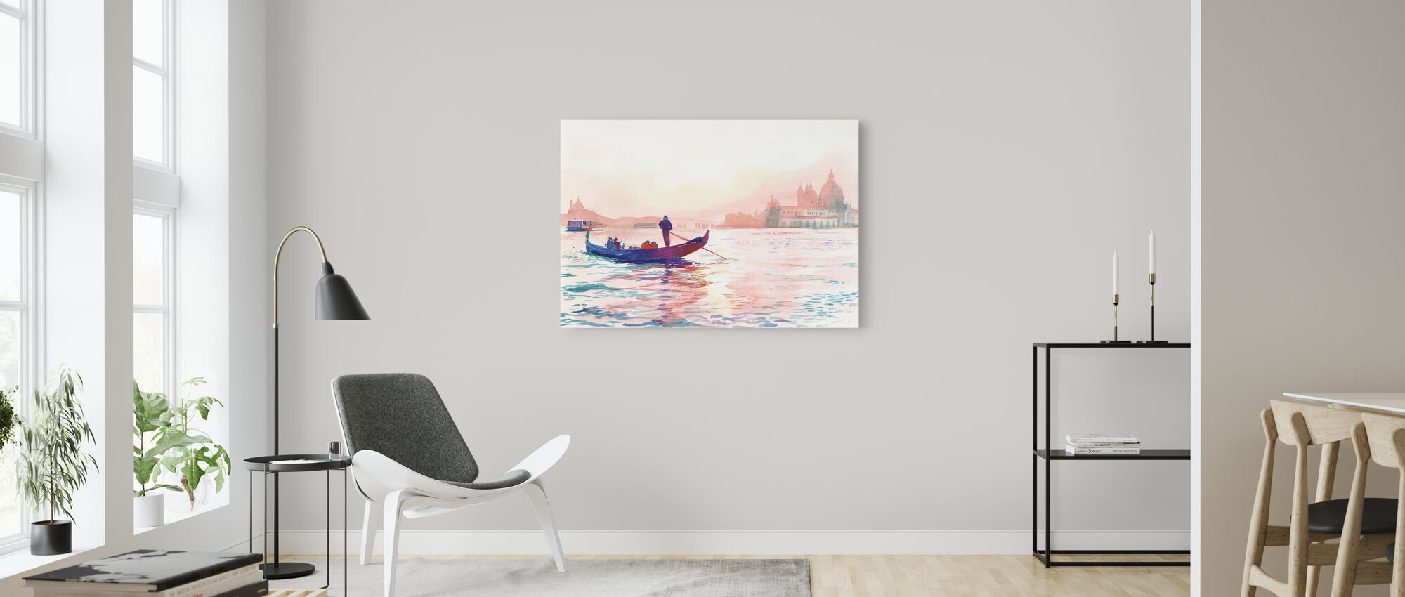 The Grand Hotel Venice - Canvas print - Living Room