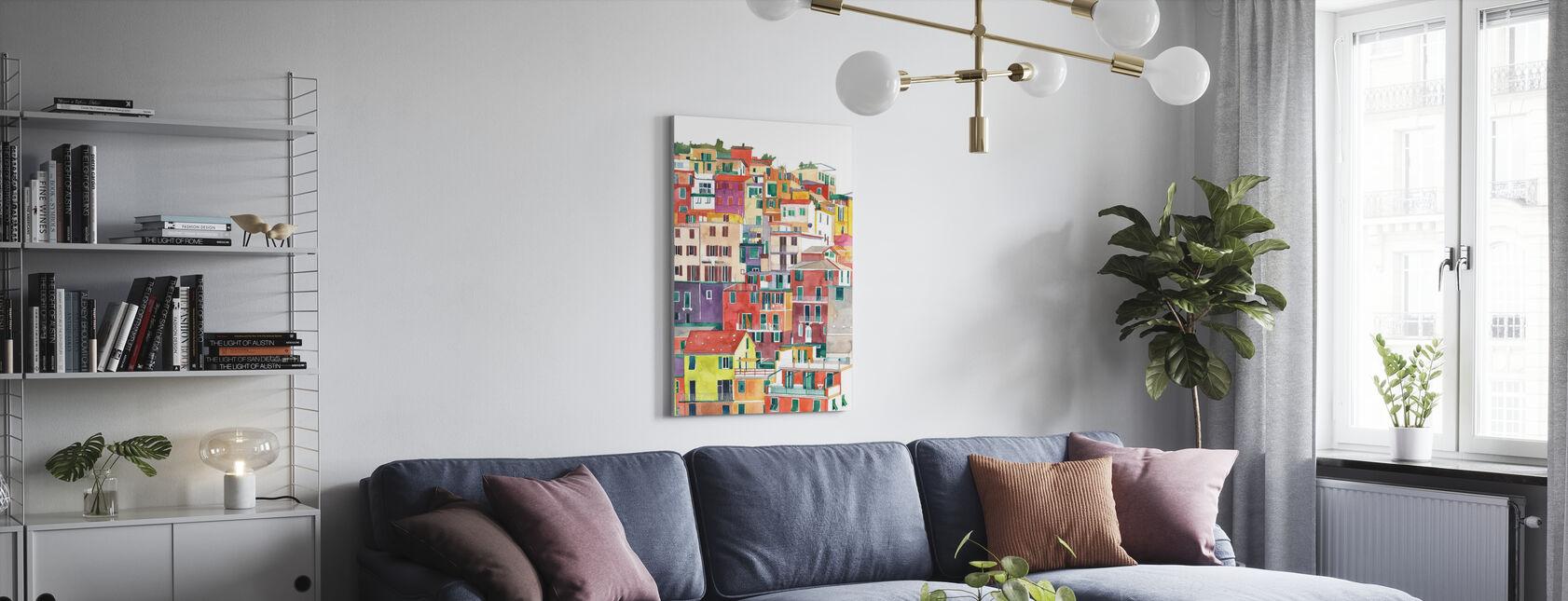 Cinque Terre - Canvas print - Living Room