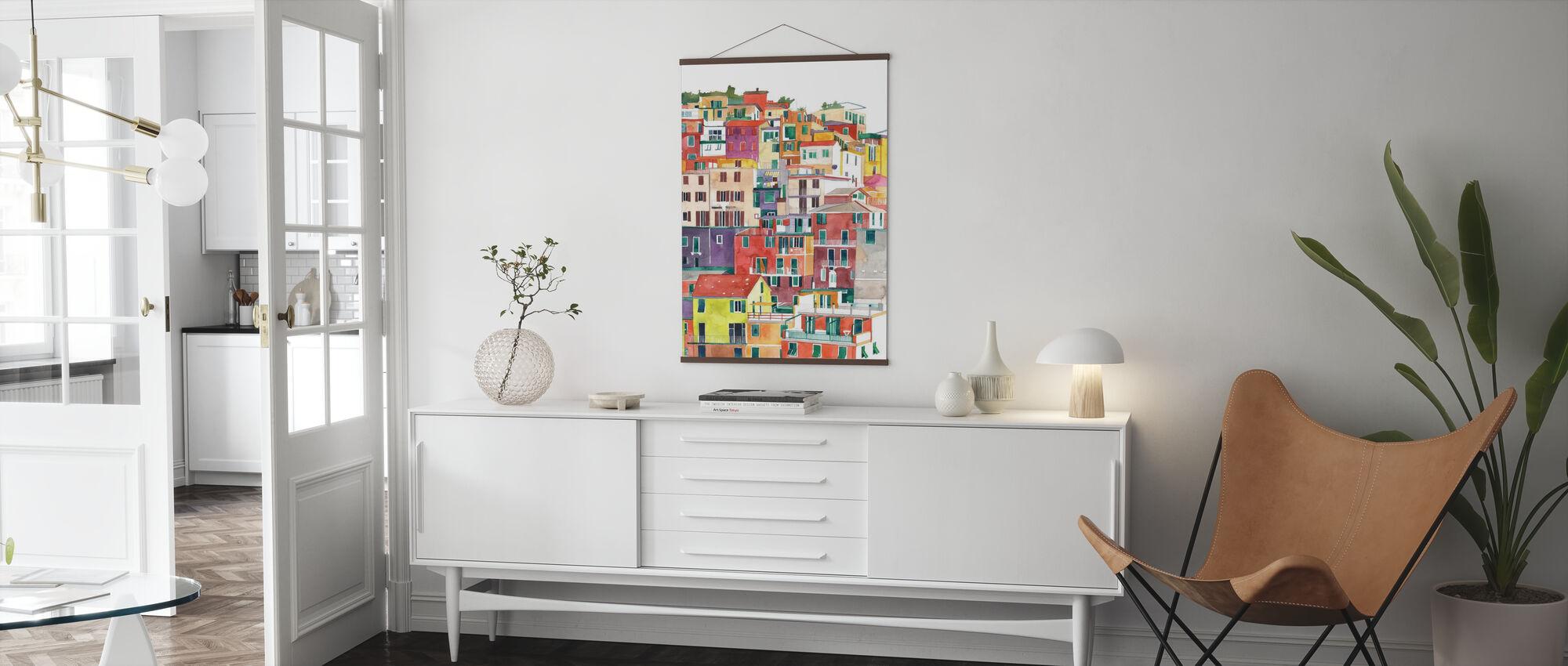 Cinque Terre - Poster - Vardagsrum