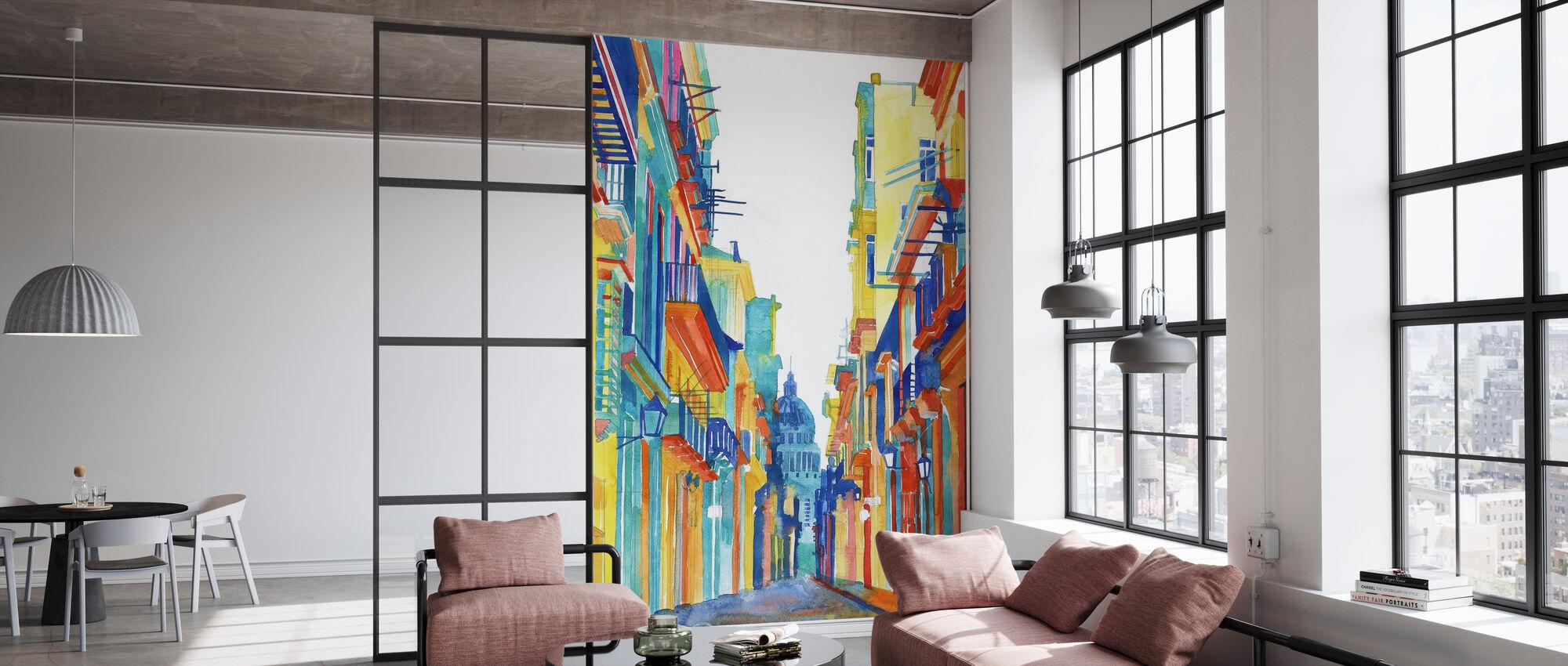 Havana Street - Wallpaper - Office