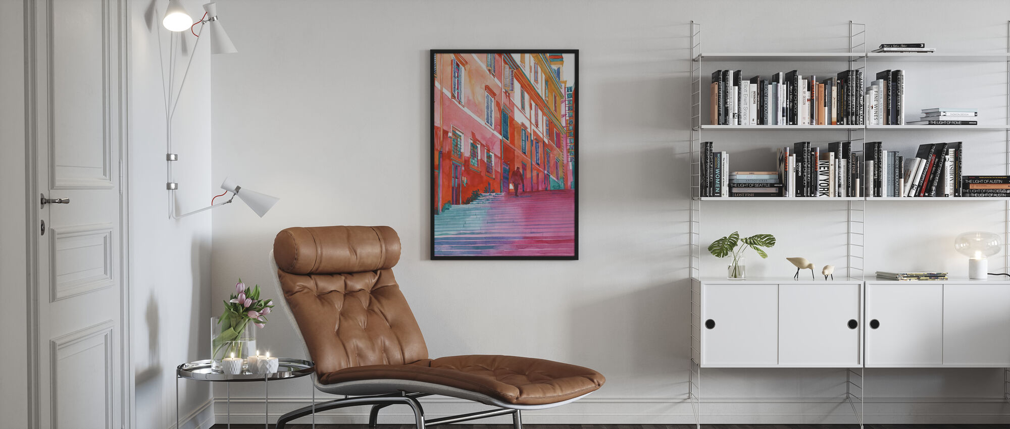 Hotel in Rome - Poster - Living Room