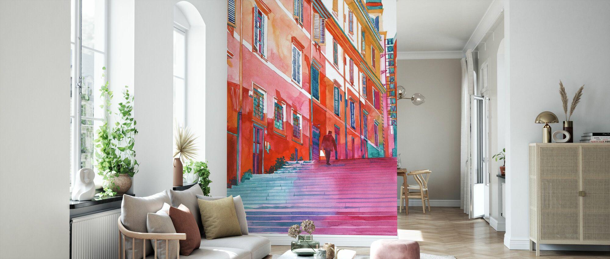 Hotell i Rom - Tapet - Vardagsrum