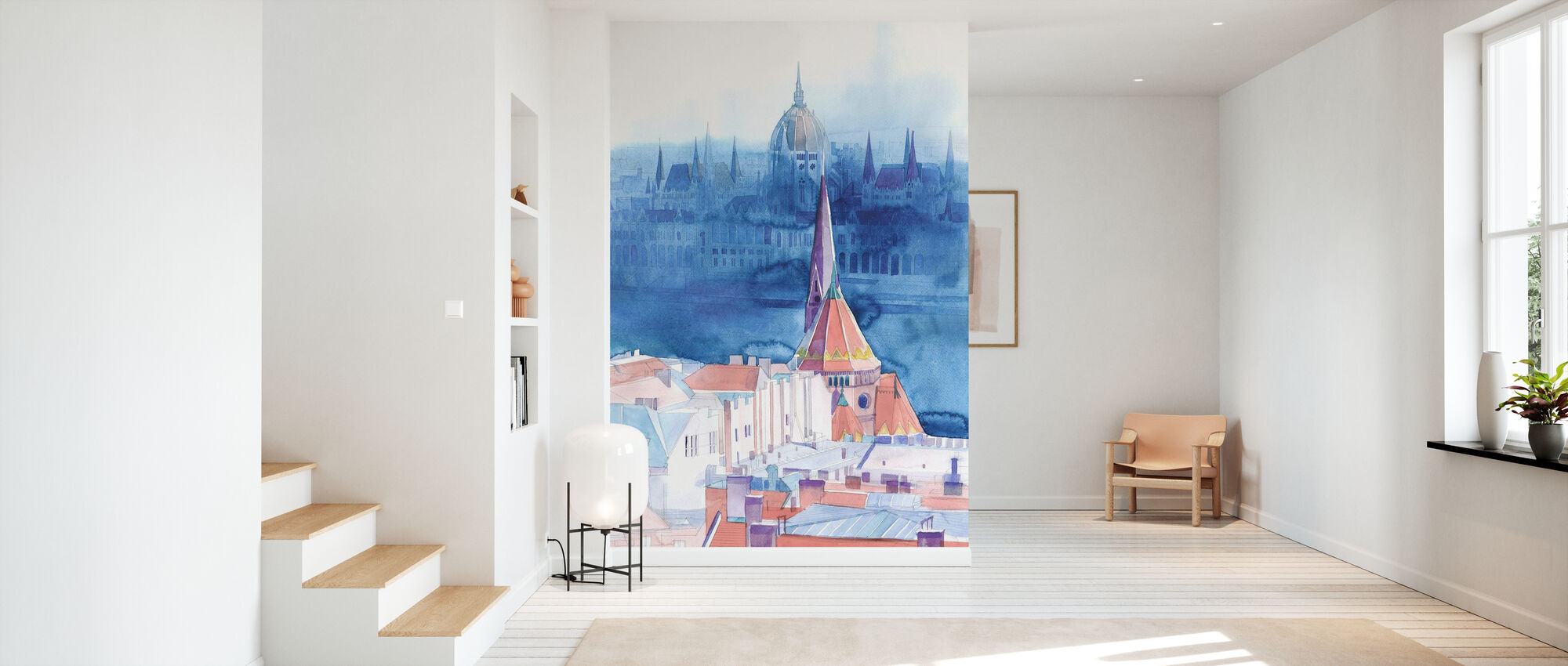 Morning in Budapest - Wallpaper - Hallway