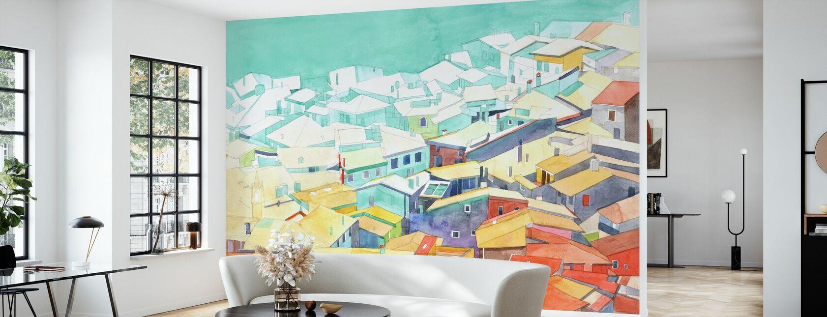 Summer in Malcesine - Wallpaper - Living Room