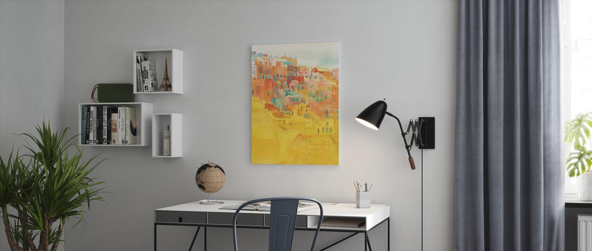 Summer on Mykonos - Canvas print - Office
